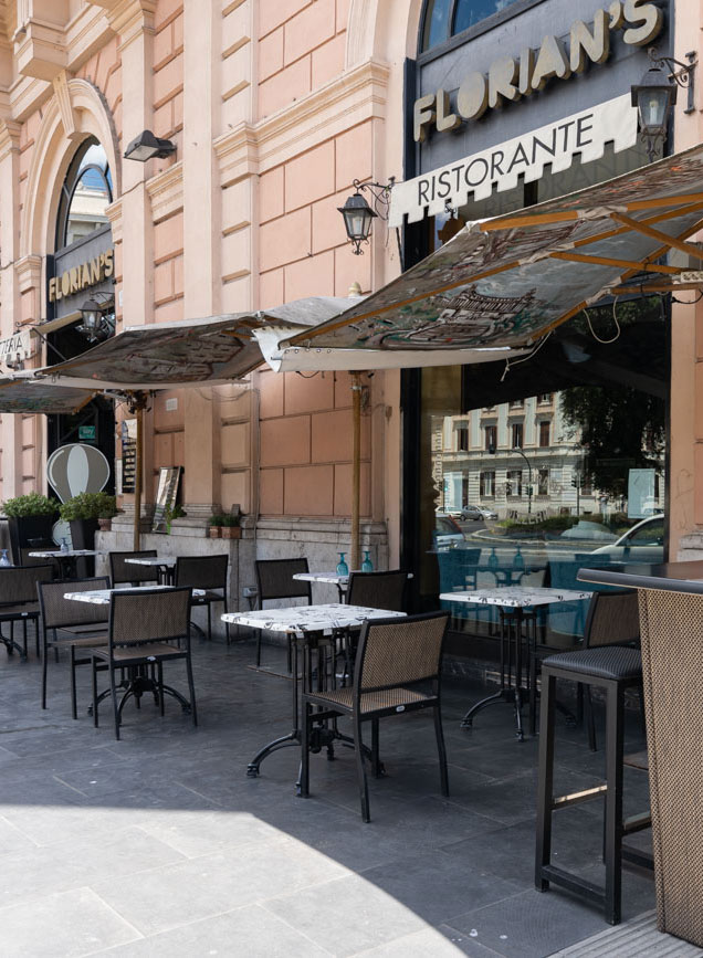 florian's cafè esterno